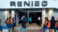 Reniec reabre sus oficinas a partir del 6 de julio