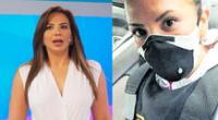 Mónica Cabrejos usa chaleco antibalas tras liberación de sus asaltantes