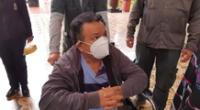Anciano vence el cáncer y ahora al coronavirus tras estar varios días en UCI.
