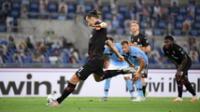 El Milan  jugó  para el Juventus al ganar a la Lazio.