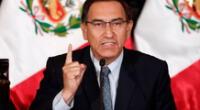 Martín Vizcarra  criticó duramente al Congreso