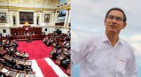 Martín Vizcarra es insultado en pleno del Congreso
