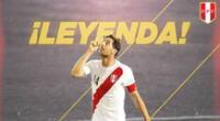 Claudio Pizarro se retiró del fútbol a los 41 años.