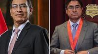 Martín Vizcarra asegura que César Hinostroza podría estar a fin de año.