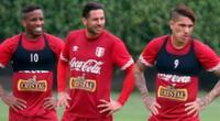 Claudio Pizarro jutno a Jefferson Farfán y Paolo Guerrero en la selección.