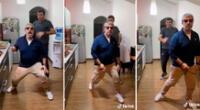 Padre e hijo sorprenden en TikTok al imitar a Wisin y Yandel