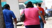 La obesidad es considerada un factor de riesgo en pacientes con coronavirus.