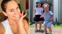 Andrea San Martin se tatúa el nombre de sus hijas