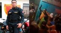 Suboficial Froilán Olano Pérez hizo disparos para dispersar a las personas, pero una de ellas impactó en la frente de Marcelino Isuiza.