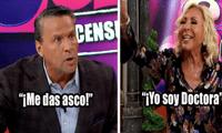 El actor mexicano Alfredo Adame acudió al programa de Laura Bozzo, Laura sin censura, y su nuevo acalorado enfrentamiento se volvió viral en redes sociales.