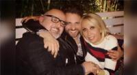 Peluchín recodó viejos tiempos junto a Laura Bozzo y Beto Ortiz. Mira algunas de las fotos de esa noche.