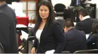Fiscal pide revocar comparecencia por prisión contra Keiko Fujimori