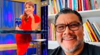 El psicólogo Tomás Angulo fue entrevistado hace poco por Magaly Medina, por lo que sus seguidores se preocuparon por su salud
