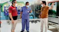 Director del Hospital en Madre de Dios se infectó de COVID-19 y necesita traslado urgente.