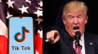 Donald Trump evalúa prohibir TikTok.