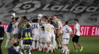 Celebra, campeón. Real Madrid consiguió su título 34 de LaLiga.