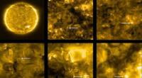 Estas son las fotografías más cercanas del Sol tomadas por ESA y la NASA.