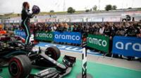 Hamilton le fue bien en el Gran Premio de Hungría.