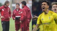 Jean Pierre Rhyner quiere defender la camiseta de la selección peruana.