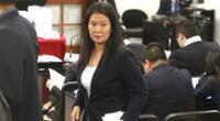 Keiko Fujimori rechazó el pedido del fiscal José Domingo Pérez.