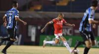 Inter de Porto Alegre y Gremio disputaron un intenso encuentro | Foto: @SCInternacional