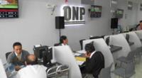 Retiro del 100 % de la ONP.