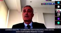 El catedrático español Gerardo Ruiz-Rico Ruiz habló del papel importante de los jueces