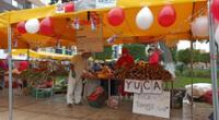 Mercado de 'La chacra a la Olla'.