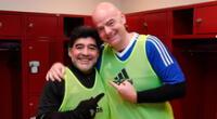 Maradona e Infantino vuelven a estar enfrentados.