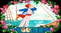 Google le rinde homenaje a la primera mujer en dar la vuelta al mundo