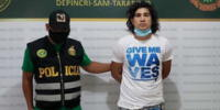 Dictan prisión contra Ronal Neili Román Burgos que captó a menor y abusó de ella