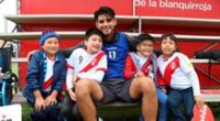 Carlos Zambrano se siente orgulloso de ser peruano.