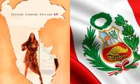 Choca Mandros, Rebeca Escribens, Paula Arias, Daniela Darcourt y demás aprovecharon en mostrar su cariño por el Perú de diferentes y peculiares maneras.