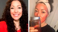 """Mujer que utiliza su menstruación como mascarilla asegura que le deja la """"piel brillante"""""""