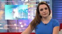 Periodista Melissa Peschiera admite haber subido de peso.