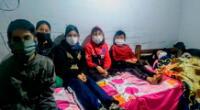 Madre soltera de cinco niños pide ayuda en Comas