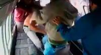 El video de la brutal golpiza se ha difundido en distintas redes sociales.