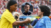 Diego Maradona quiere a Christian Cueva y Ronaldinho en Gimnasia.