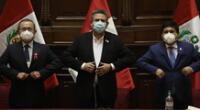 El presidente del Congreso culpó al mandatario Martín Vizcarra de la crisis en el gabinete ministerial.