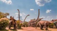 Los dinosaurios empiezan su extinción en el período Cretácico.
