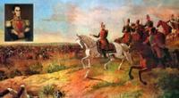 Representación de la Batalla de Junín por Martín Tovar y Tovar | Foto: composición
