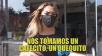 """Isabel Acevedo responde tras ampay: """"Nos tomamos un cafecito y un kekito"""""""