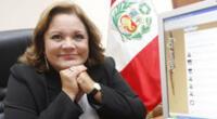 Rosario Sasieta es titular del Ministerio de la Mujer.