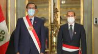 Martín Vizcarra tomo juramentó de su nuevo equipo ministerial.