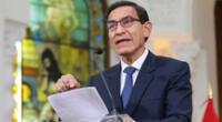 Martín realizó pronunciamiento sobre problemas entre el Legislativo y Ejecutivo.