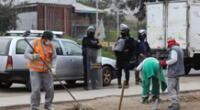 Desalojan a más de 120 ambulantes en SJM.