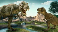 El Tiranousaurio Rex es quizá el dinosaurio más famoso y su nombre significa Reptil Tirano.