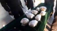 PNP incautó 14 kilos de cocaína.