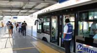 Anuncian disminución de buses del Metropolitano.