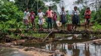 Derrame de petróleo afecta la selva peruana.
